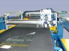 CNC-Schneid/Brechsystem für Automobilglas